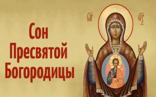Чудотворные молитвы «Снов» Пресвятой Богородицы на все случаи жизни