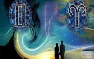 Овен и Близнецы: любовная, дружеская совместимость знаков