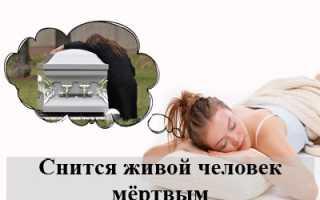 К чему снится живой человек мёртвым: трактование ночной грёзы популярными сонниками
