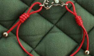 Как правильно сделать оберег из красной нити на руку в домашних условиях?