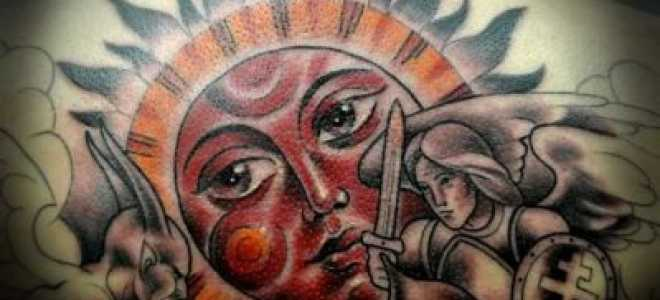 Славянские татуировки и руны: сила и значение