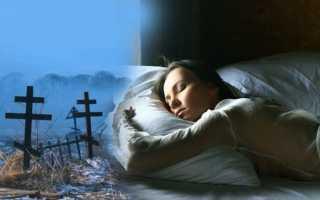 К чему снятся умершие люди: толкование разными сонниками