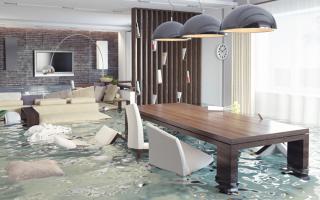 К чему снится, что затопило квартиру (от соседей сверху)?