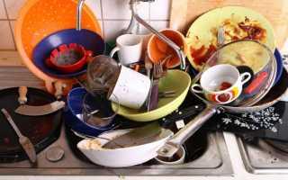 К чему снится грязная посуда мужчине и женщине?
