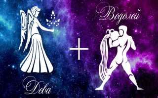 Дева и Водолей — совместимость знаков зодиака