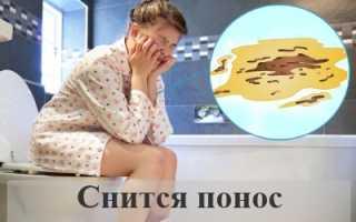 К чему снится понос: к деньгам или неприятностям