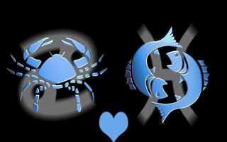 Совместимость Рака и Рыб в любви, браке, постели и дружбе