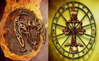 Овен и Весы — совместимость Знаков зодиака
