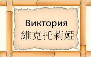 Значение и происхождение имени Виктория