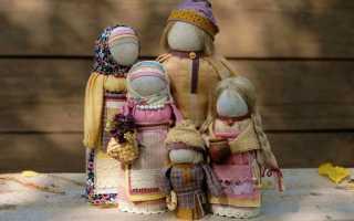 Славянские куклы-обереги: их виды, значение и изготовление своими руками