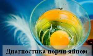 Диагностика порчи яйцом — правила проведения и расшифровка