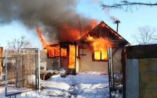 К чему снится пожар в чужом доме?