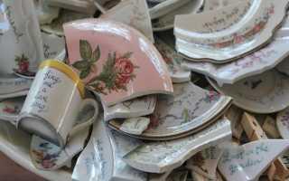 Приметы и суеверия, связанные с разбитой посудой