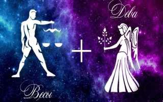 Весы и Дева: совместимость мужчины и женщины в любви и браке