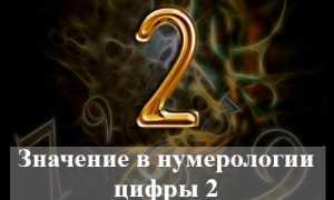 Значение в нумерологии и влияние на судьбу человека цифры 2