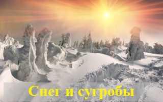 Значение по соннику: к чему снятся снег и сугробы?