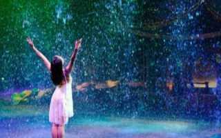 К чему снится сильный ливень?