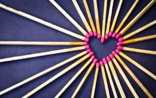 Гадание на спичках на любовь или определение порчи