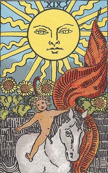 Аркан 19 Солнце