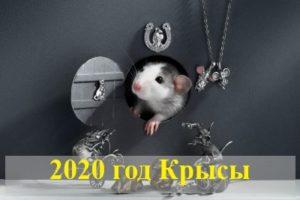 2020 — год Золотой (металлической) Крысы по восточному календарю