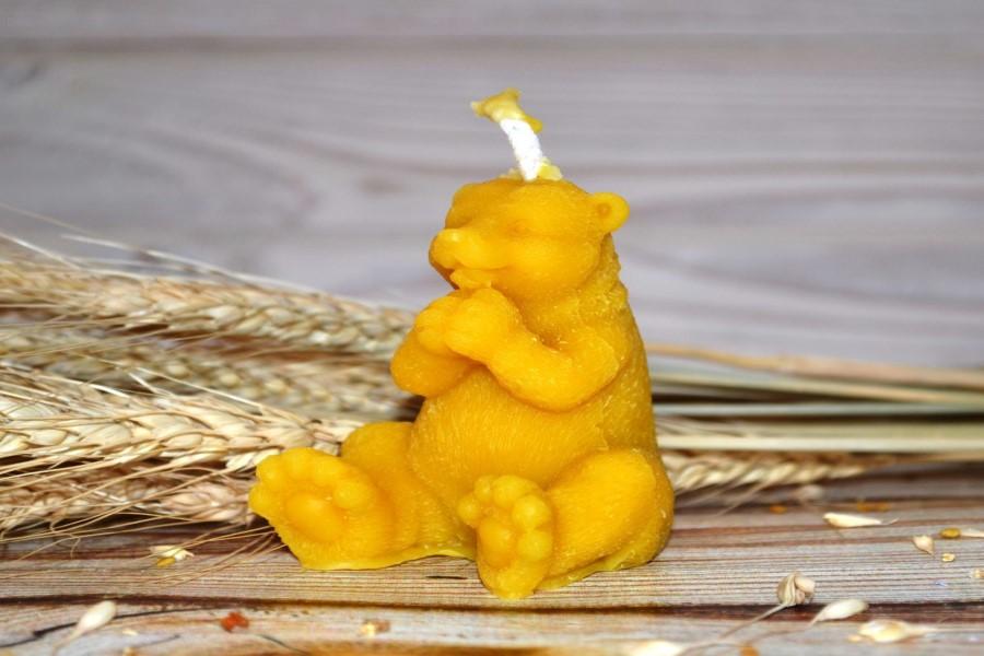 Что означает фигура медведя при гадании на воске?
