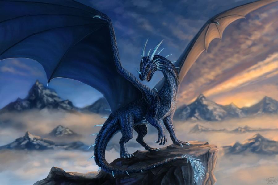 Дракон в гадании на воске: значение и толкование фигуры