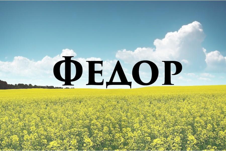 Фёдор: значение имени и характер носящего