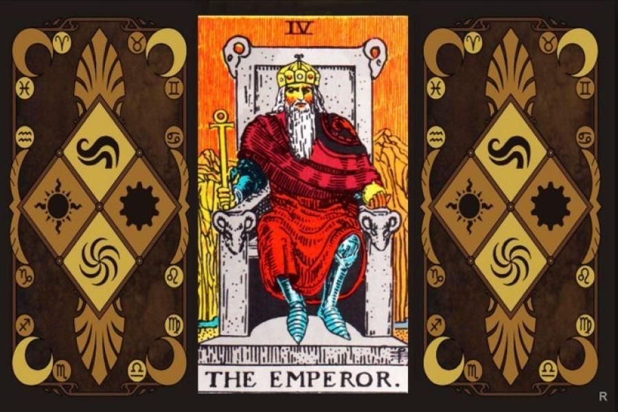 Император в колодах Таро: значение карты в раскладах