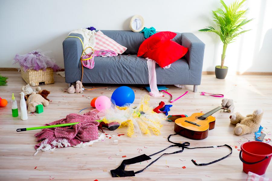 К чему снится бардак в доме: толкование сновидения