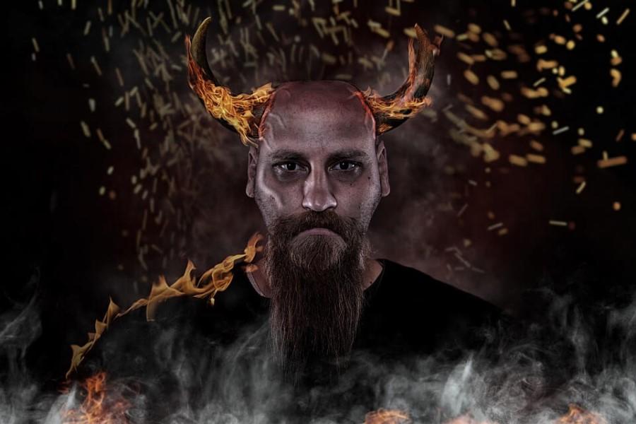 К чему снится чёрт с рогами и в обличье человека?