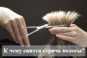 К чему снится стричь волосы?