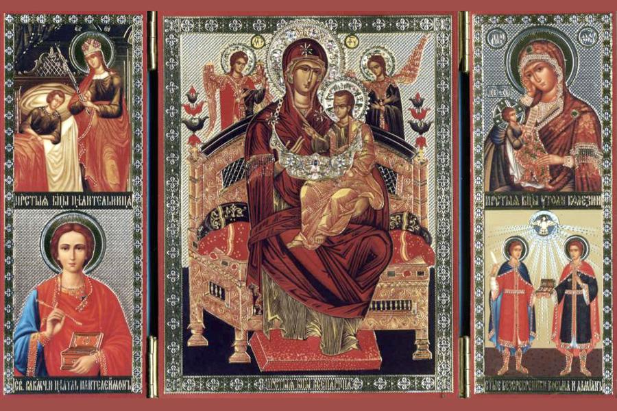 Молитва Богородице Всецарице при онкологии, акафист об исцелении