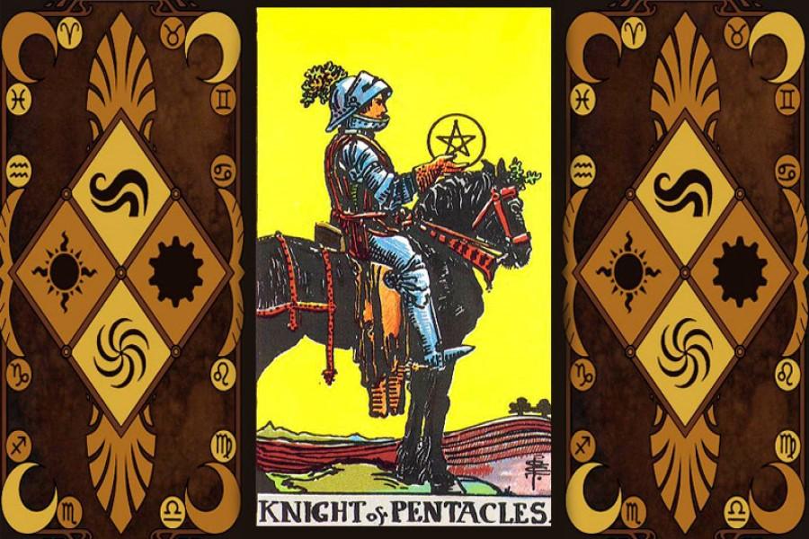 Рыцарь Пентаклей: значение карты Таро в раскладах