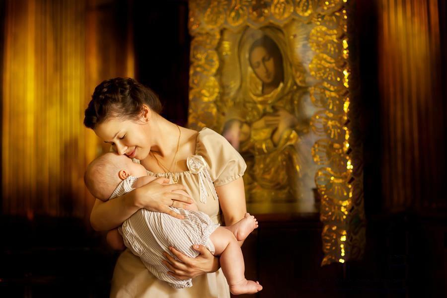 Самая сильная молитва о здоровье ребенка