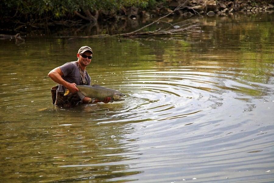 К чему снится ловить рыбу руками?
